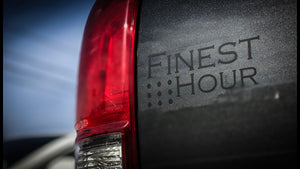 Finest Hour Vinyl Decal