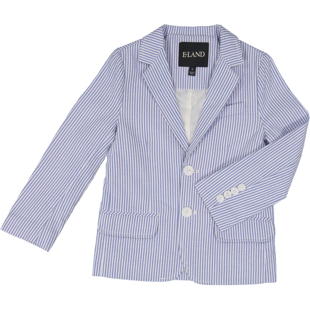 Children's Seersucker Blazer