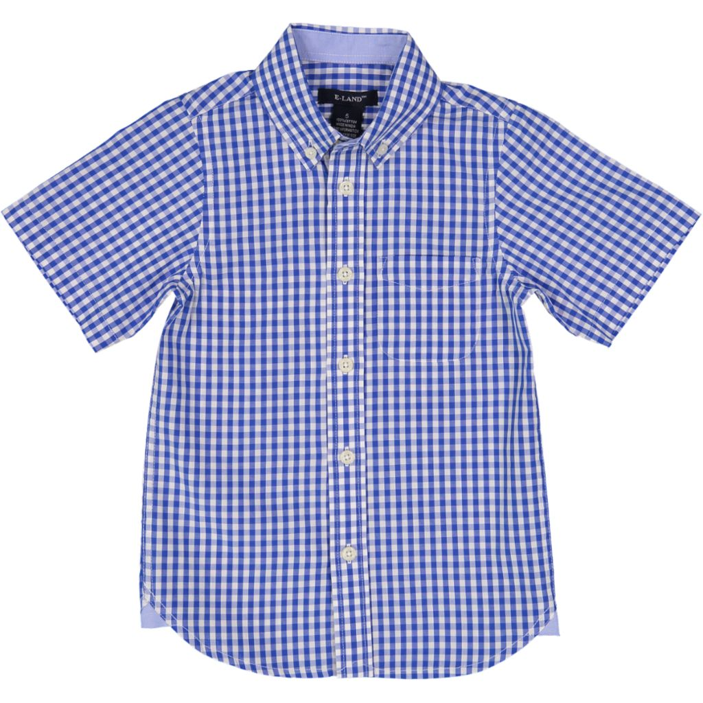 Gingham Check S/S