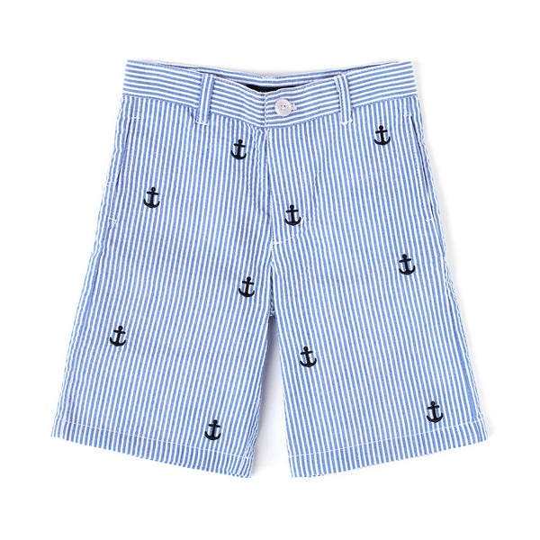 Anchor Seersucker Short