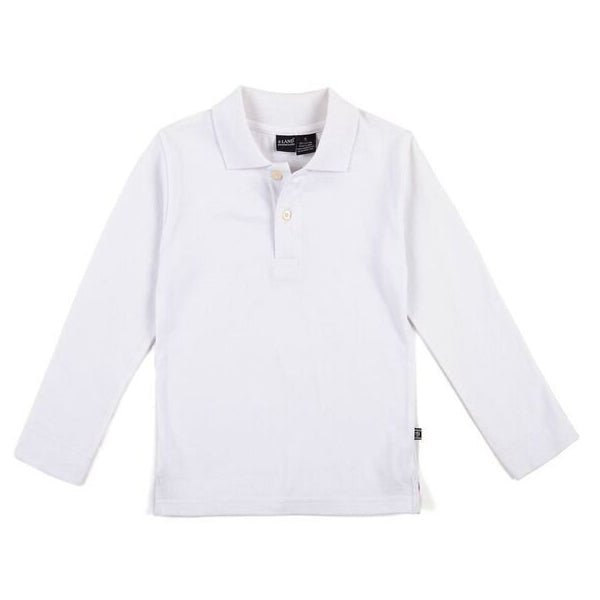 Solid Pique Polo L/S