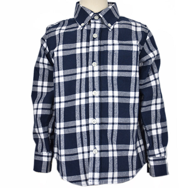 Boy's Check Shirt
