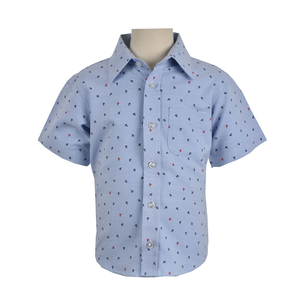 Children's PRINTED SHIRT SHORT SLEEVE