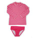 Stripe Swim Set