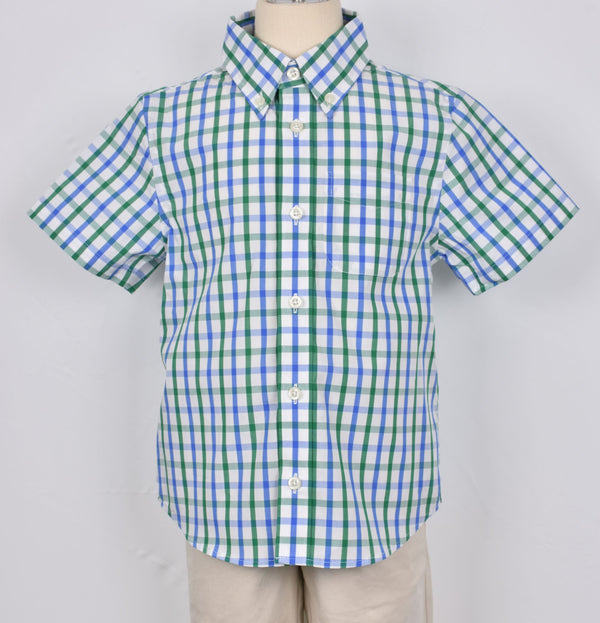 Plaid Shirt S/S