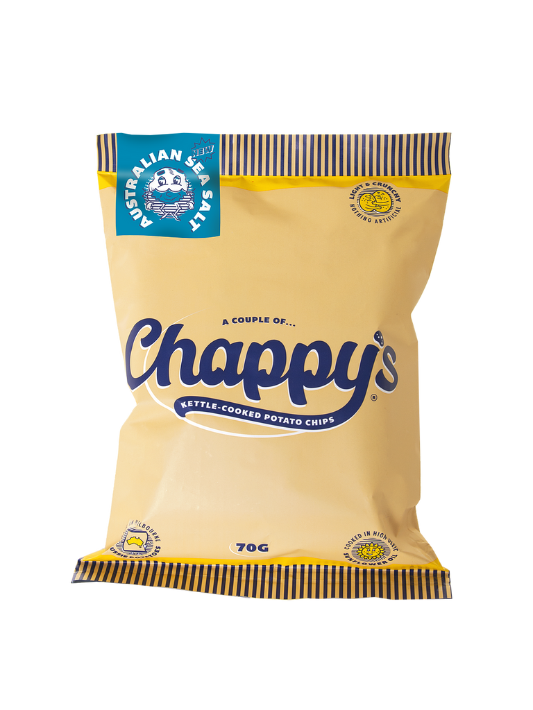 Chappy's Australian Sea Salt Potato Chips 70g