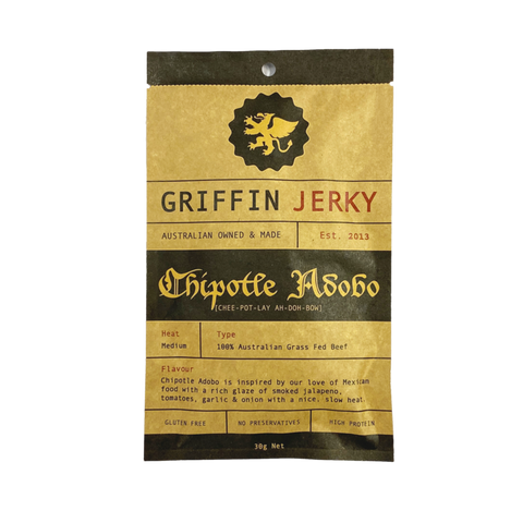 Griffin Jerky Chipotle 30g