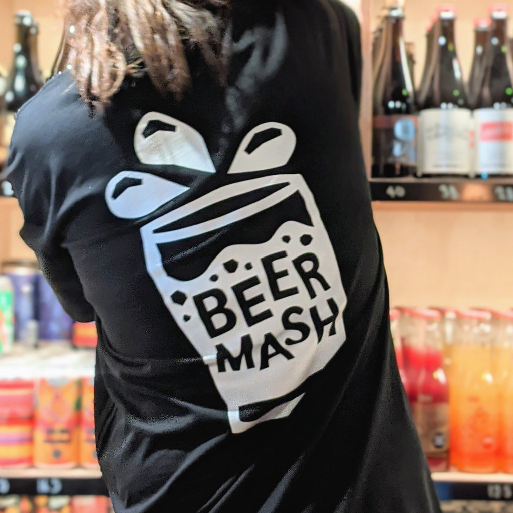 Beermash Tee Black Small