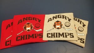 Angry Chimps Hockey Team - Long Sleeve Shirt