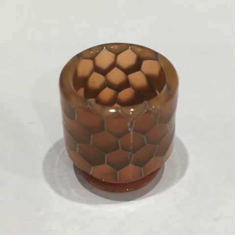 810 Resin Cobra Drip Tip (with O rings)