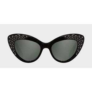 cutler and gross eyewear, xeyes sunglass shop, cat-eye sunglasses, crystals, women sunglasses, acetate, luxury eyewear, fashion