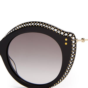 GUCCI CAT EYE SUNGLASSES, BLING BLING, XEYES SUNGLASS SHOP