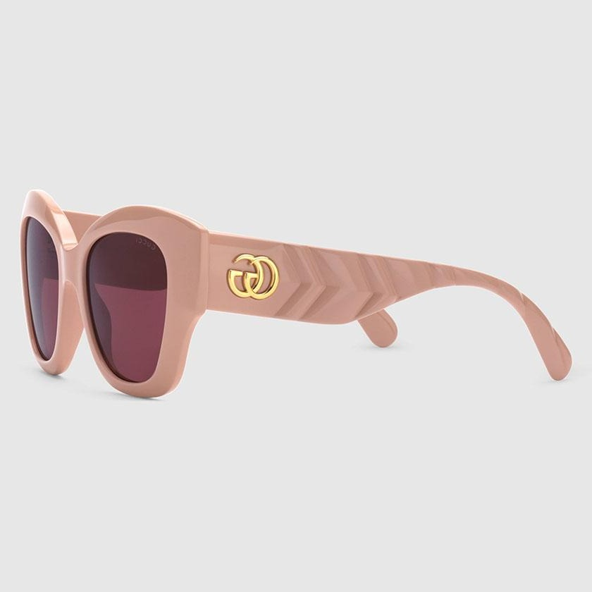 gucci, gucci eyewear, gucci sunglasses, xeyes sunglass shop, women sunglasses, fashion, fashion sunglasses, gold sunglasses gucci men sunglasses, big cat eye sunglasses, gucci sunglasses, retro sunglasses, square pink glasses, cat eye pink gucci glasses, glasses GG logo, gucci gg0808s 003