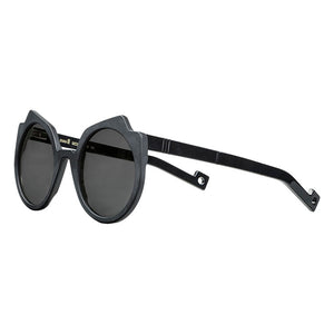 pawaka eyewear, pawaka sunglasses, xeyes sunglass shop, geometric sunglasses, round sunglasses. black sunglasses. women sunglasses, fashion, fashion sunglasses