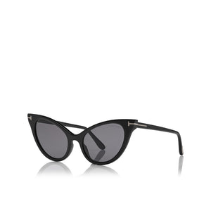 tom ford, tom ford eyewear, tom ford sunglasses, xeyes sunglass shop, oversized sunglasses, women sunglasses, fashion, fashion sunglasses, cat-eye sunglasses, black sunglasses