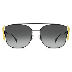 fendi, freedom fendi, sunglasses luxury, xeyes sunglass shop, aviator glasses, pilot sunglasses