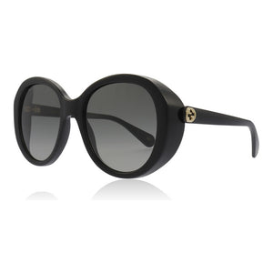 gucci, gucci eyewear, gucci sunglasses, xeyes sunglass shop, women sunglasses, fashion, fashion sunglasses, round classic sunglasses, round women sunglasses, black glasses for women, gg0368s, xeyes, xeyes sunglass shop