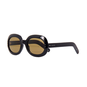 gucci, gucci eyewear, gucci sunglasses, xeyes sunglass shop, women sunglasses, fashion, fashion sunglasses, oval sunglasses, black sunglasses