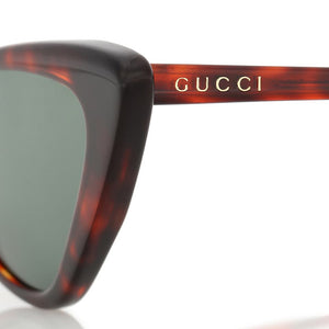 gucci sunglasses, brown plastic glasses, small cat eye sunglasses, retro cat eye, gucci glasses, xeyes sunglass shop, luxury glasses, trend sunglasses