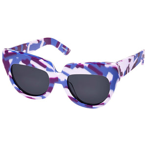 house of holland, house of holland eyewear, house of holland sunglasses, xeyes sunglass shop, acetate sunglasses, fashion, fashion sunglasses, women sunglasses, bold sunglasses, cat eye sunglasses, oversized sunglasses, camo sunglasses, purple sunglasses