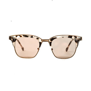 VALLEY SUNGLASSES, EYEWEAR X-EYES SUNGLASS SHOP, HANDMADE PINK TORTOISE SQUARE FRAME CARL ZEISS LENSES