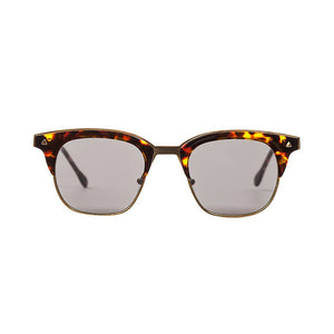 VALLEY SUNGLASSES, EYEWEAR X-EYES SUNGLASS SHOP, HANDMADE LARYNX BROWN TORTOISE  SQUARE FRAME CARL ZEISS LENSES
