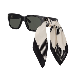Linda Farrow, Scarf Sunglasses, Xeyes sunglass shop, luxury eyewear, limited edition glasses