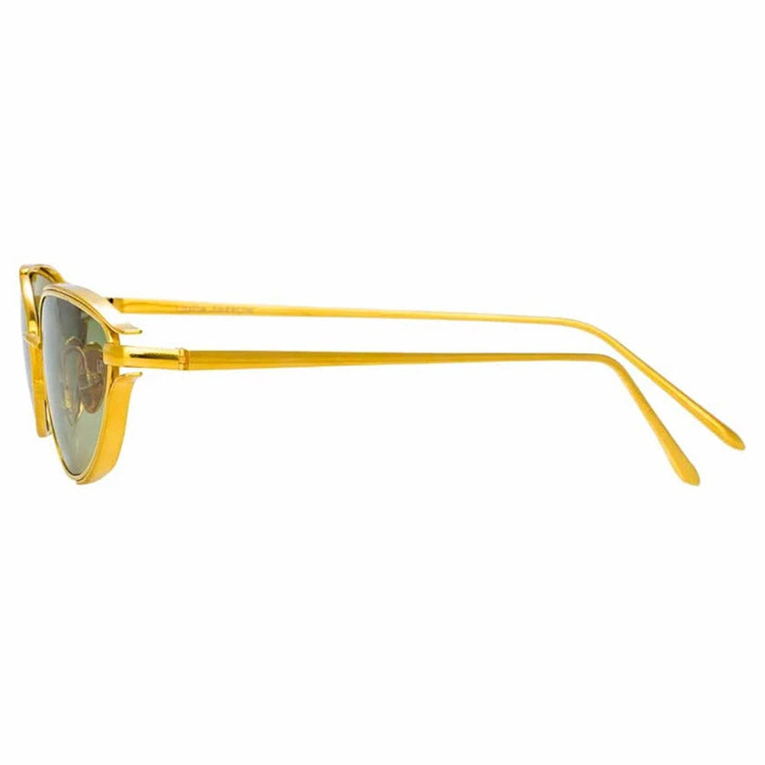 linda farrow, linda farrow eyewear, linda farrow sunglasses, xeyes sunglass shop, fashion sunglasses, cat-eye sunglasses, gold sunglasses, luxury eyewear, luxury, fashion,