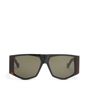 Black mask eyewear, loewe sunglasses, xeyes sunglass shop