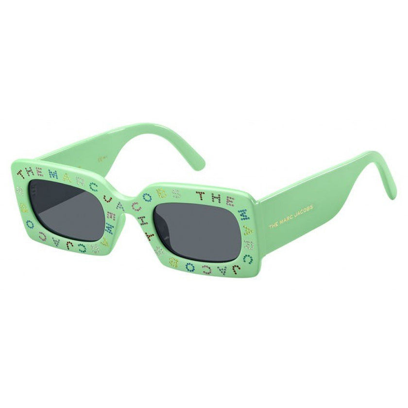 The Marc Jacobs sunglasses, green fluo glasses, crystals on sunglasses, xeyes sunglass shop, fashion sunglasses, fashion, marc jacobs sunglasses, marc jacobs, crystals