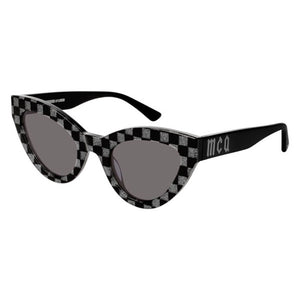 mcq, mcq eyewear, mcq sunglasses, xeyes sunglass shop, cat-eye sunglasses, women sunglasses, black sunglasses, fashion, fashion sunglasses, glitter sunglasses
