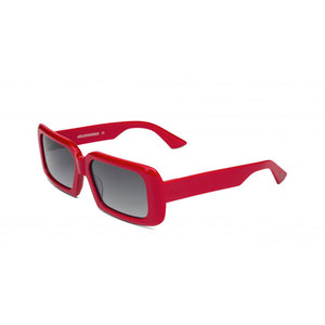 kreuzbergkinder, kreuzbergkinder eyewear, kreuzbergkinder sunglasses, xeyes sunglass shop, rectangular sunglasses, acetate sunglasses, women sunglasses, fashion sunglasses, melissa, red sunglasses