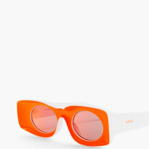 loewe eyewear, xeyes sunglass shop, paula ibiza collection, square sunglasses, fashion sunglasses