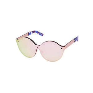 house of holland, house of holland eyewear, house of holland sunglasses, xeyes sunglass shop, metal sunglasses, fashion, fashion sunglasses, women sunglasses, round sunglasses, mask sunglasses, oversized sunglasses, rose gold sunglasses