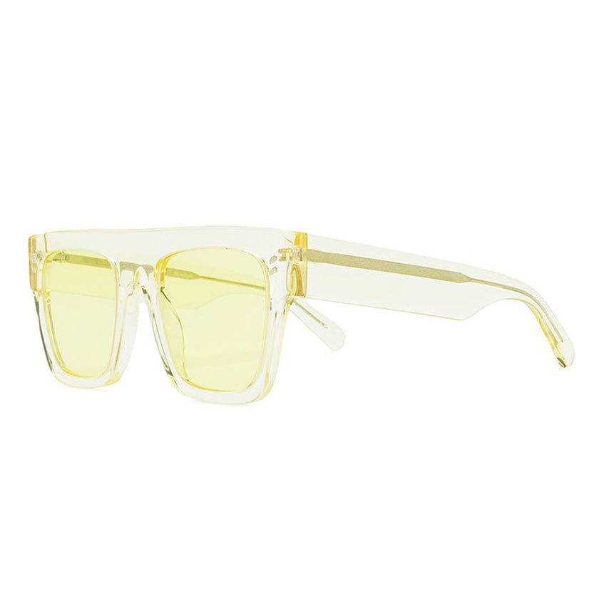 stella mccartney, stella mccartney eyewear, yellow glasses, xeyes sunglass shop, stella mccartney sunglasses, fashion, fashion sunglasses, flat top sunglasses, women sunglasses, luxury eyewear, mask sunglasses,