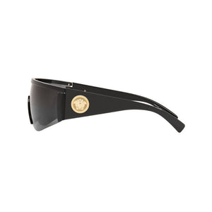 versace eyewear, versace sunglasses, xeyes sunglass shop, fashion, fashion sunglasses, men sunglasses, women sunglasses, mask sunglasses, shield sunglasses, black sunglasses, medusa