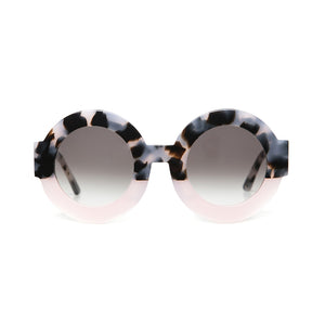 VALLEY SUNGLASSES, EYEWEAR X-EYES SUNGLASS SHOP, HANDMADE CHUNKY ROUND FRAME CARL ZEISS LENSES