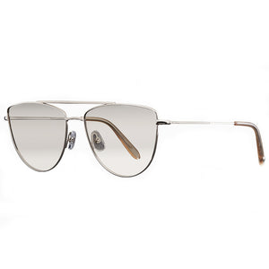 GARRETT LEIGHT, EYEWEAR X-EYES SUNGLASS SHOP, STRAIGHT TOP BAR AVIATOR SUNGLASSES