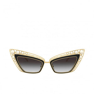 dolce & gabbana sunglasses, xeyes sunglass shop, pearls, cat-eye sunglasses, women sunglasses
