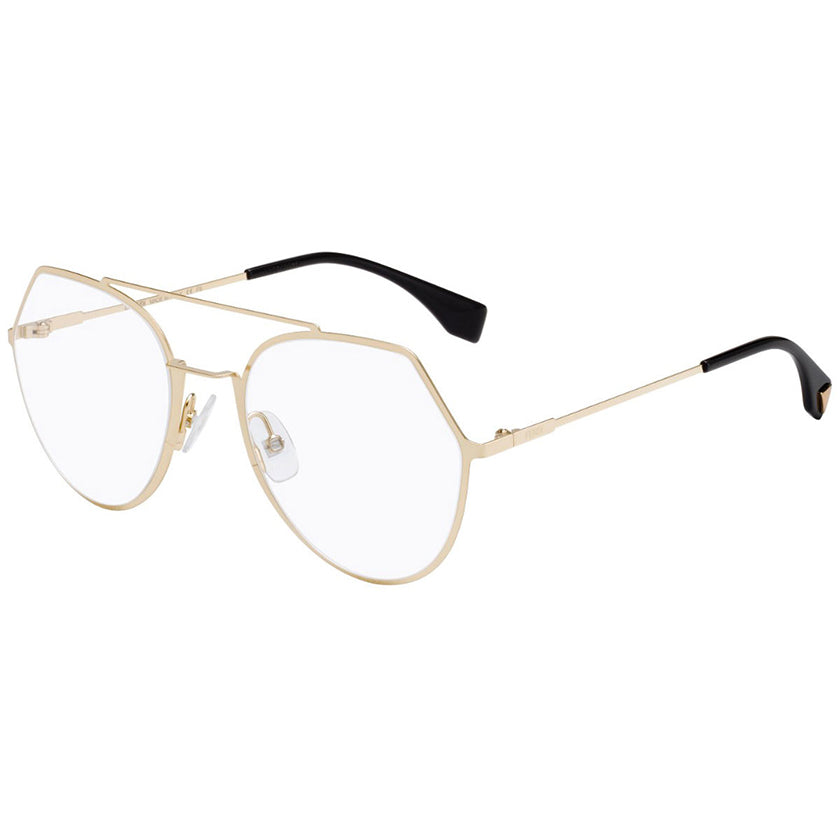 fendi optical glasses, fendi glasses, fendi eyewear, xeyes sunglass shop, fashion eyeglasses, men optical glasses, women optical glasses, pilot gold glasses ff0329