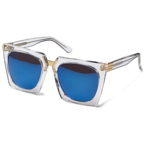 , best women eyewear, titanium glasses, irresistor sunglasses, xeyes sunglass shop, xeyes irresistor sunglasses, irresistor glasses, clear frame with blue lenses. irresistor zip, irresistor zip crt