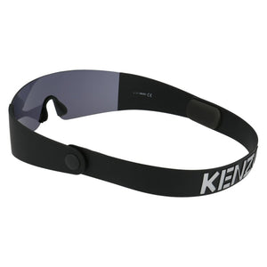 kenzo eyewear, xeyes sunglass shop, unisex sunglasses, black sunglasses, mask eyewear