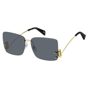 marc jacobs, xeyes sunglass shop, fashion sunglasses, fashion, marc jacobs sunglasses, marc jacobs eyewear, gold sunglasses, women sunglasses, square sunglasses, square frameless sunglasses, marc 372s sugnlasses