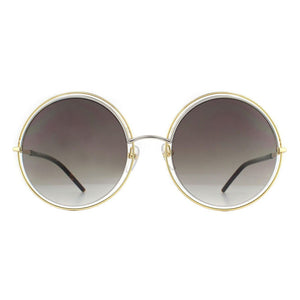 marc jacobs, xeyes sunglass shop, fashion sunglasses, fashion, marc jacobs sunglasses, marc jacobs eyewear, gold sunglasses, women sunglasses, round sunglasses