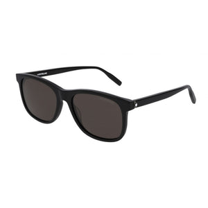 mont blanc, mont blanc eyewear, mont blanc sunglasses, xeyes sunglass shop, men sunglasses, wayfarer sunglasses, acetate sunglasses, mb0013s, black sunglasses