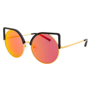 linda farrow, linda farrow eyewear, linda farrow sunglasses, xeyes sunglass shop, women sunglasses, fashion sunglasses, oversized sunglasses, round sunglasses, special edition, fashion, fashion sunglasses, matthew williamson, MW/169