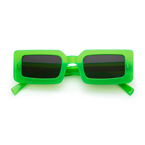 neon green glasses, chimi sunglasses, xeyes sunglass shop