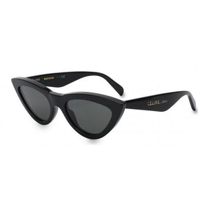 celine eyewear, xeyes sunglass shop, cat-eye sunglasses, women sunglasses, fashion sunglasses, CI40019I, cat eye celine, black celine glasses
