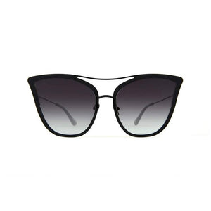 for art's sake sunglasses, for art's sake eyewear, xeyes sunglass shop, cat eye sunglasses, oversized sunglasses, fashion, fashion sunglasses, women sunglasses, black sunglasses, metal sunglasses