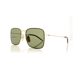 thom browne, thom browne eyewear, thom browne sunglasses, xeyes sunglass shop, titanium, titanium sunglasses, luxury, luxury sunglasses, fashion, fashion sunglasses, men sunglassses, women sunglasses, square sunglasses, silver sunglasses